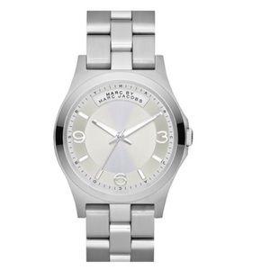 Silver Marc Jacobs women's watch